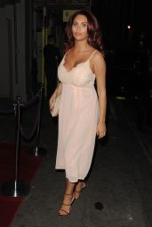 Amy Childs - Arrives at Hand Dr. Event in London, UK 9/20/2016