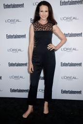 Andie MacDowell – EW Hosts 2016 Pre-Emmy Party in Los Angeles 9/16/2016