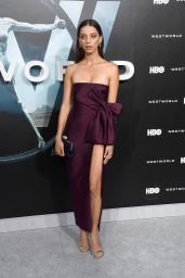 Angela Sarafyn – 'Westworld' Premiere in Hollywood 9/28/2016
