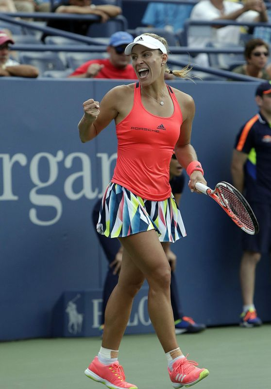 Angelique Kerber -2016 US Open in New York - Second Round  8/31/2016