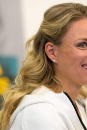Angelique Kerber at the Hilton Airport Hotel in Munich 9/13/2016