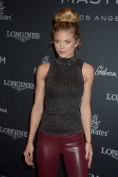 AnnaLynne McCord - Longines Masters of Los Angeles at the Long Beach Convention Center 9/29/2016