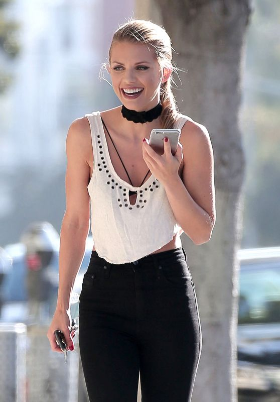 AnnaLynne McCord Style - Out in Santa Monica 9/1/2016