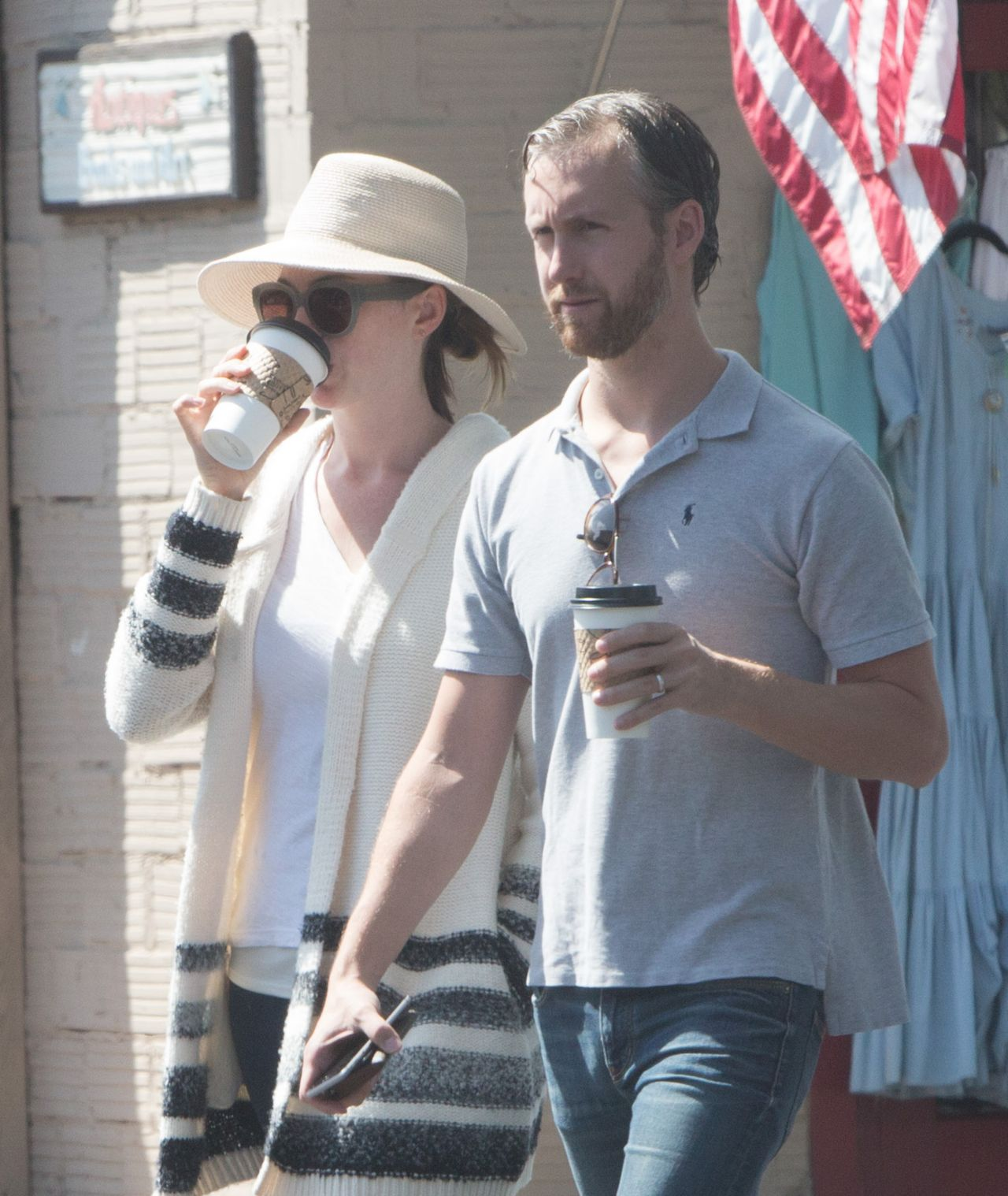 Anne Hathaway Real Name: Grabbing Some Coffee In Los
