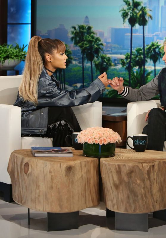 Ariana Grande - The Ellen DeGeneres Show, September 2016