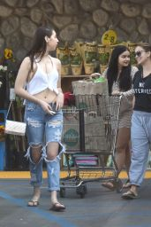 Ariel Winter - Grocery Shopping With Her Sister And a Friend, Los Angeles 9/5/2016
