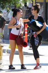 Ariel Winter - Leaving A Yoga Class in Studio City 9/14/2016