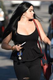 Ariel Winter Wearing Skin Tight Outfit - Los Angeles, SEptember 2016