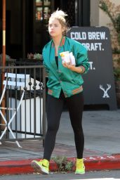 Ashley Benson in Tights - at Alfred