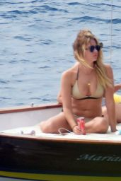 Ashley Benson, Shay Mitchell & Troian Bellisario - On a Boat in Capri 9/9/2016