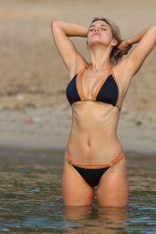 Ashley James in Bikini at the Beach in Ibiza 9/22/2016