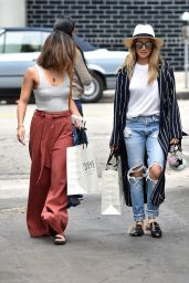 Ashley Tisdale and Vanessa Hudgens Shopping in Beverly Hills 9/13/2016