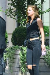 Barbara Palvin - Leaves a Hotel in NYC 9/8/2016