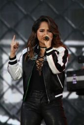 Becky G Perform at Global Citizen Festival 2016 in NYC 9/24/ 2016