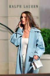 Bella Hadid - Leaving the Ralph Lauren Fashion Show in New York City, September 2016