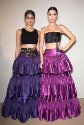 Bella Hadid & Taylor Hill - Alberta Ferretti Show at Milan Fashion Week, September 2016