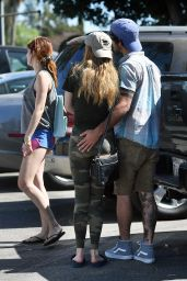 Bella Thorne Military Style - With Friends in Los Angeles 9/28/2016