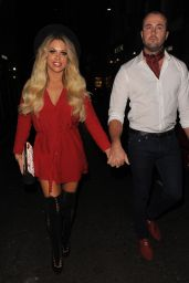 Bianca Gascoigne at Hang Dr Party in London 9/20/2016