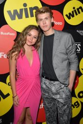 Brec Bassinger – The Buzzies, BuzzFeed's Pre-Emmy Party in West Hollywood 9/14/2016