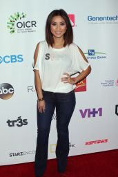 Brenda Song - Hollywood Unites for the 5th Biennial Stand Up to Cancer Event 9/9/2016