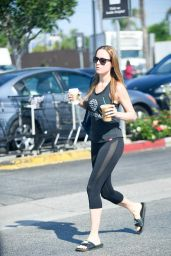 Brie Larson - Out in West Hollywood 9/1/2016