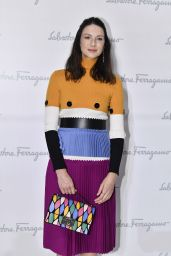 Caitriona Balfe - Salvatore Ferragamo FAshion Show in Milan, September 2016