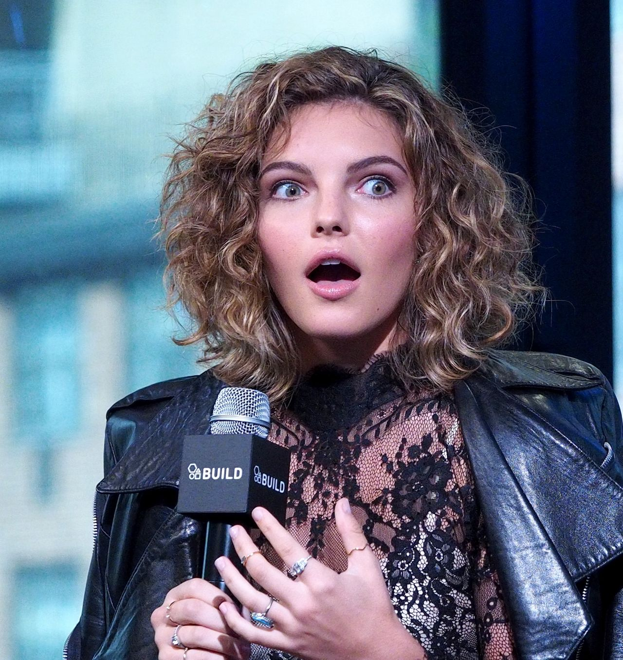 Camren Bicondova – AOL Build Series, 9/16/2016 | FilmStar ...