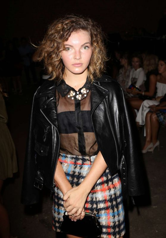 Camren Bicondova - Milly Fashion Show at 2016 New York Fashion Week 9/9/2016