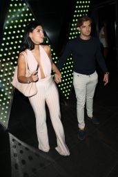 Cara De La Hoyde at The ByGeorgiaK Collection Launch At W Hotel In London 9/20/2016