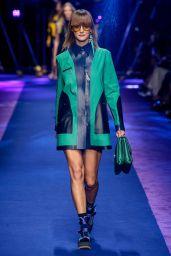 Carmen Kass - Versace S/S 2017 Show in Milan, September 2016