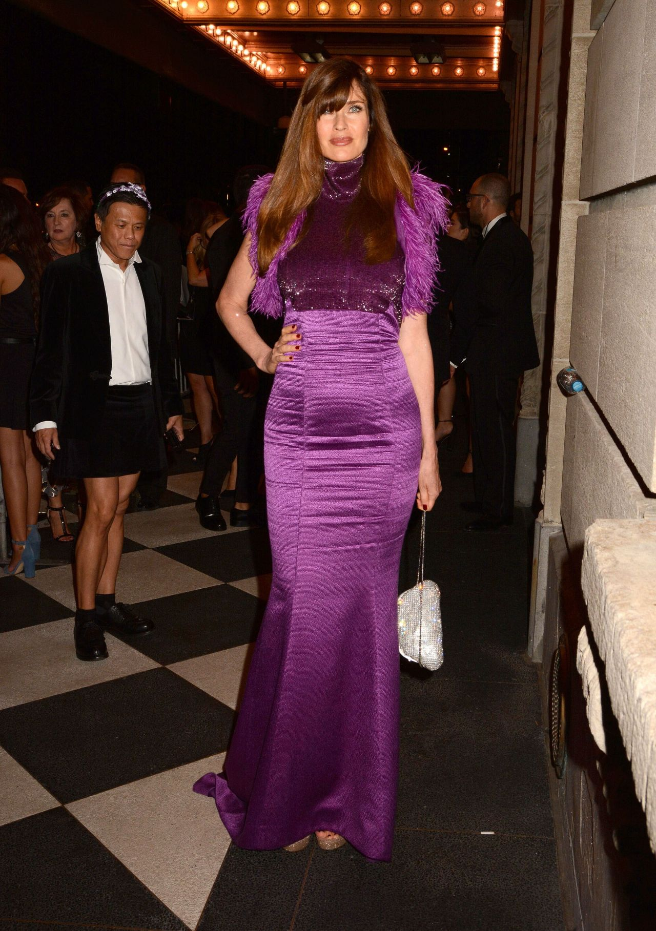 Carol Alt Harper S Bazar Party In Plaza Hotel Nyc