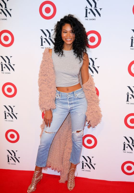 Chanel Iman – Target + IMG NYFW Kickoff Event in New York City 9/6/2016