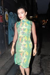 Charli XCX - Experiments With Her Style at The Impulse Changing Room in Soho, London 9/6/2016