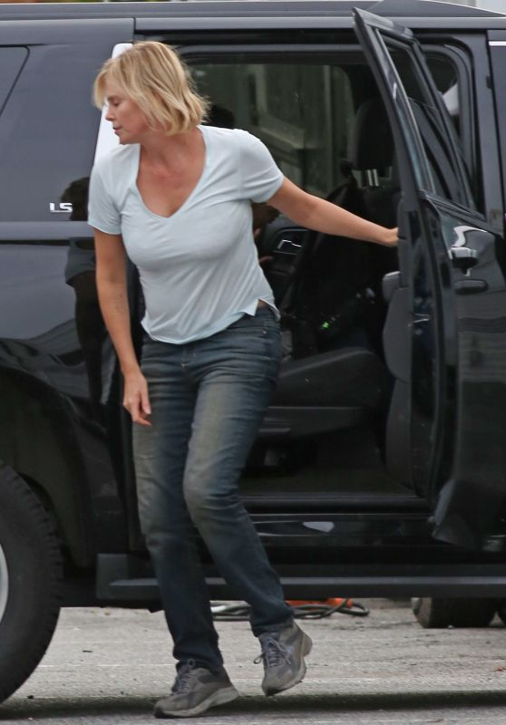 Charlize Theron - Out in Vancouver 9/25/2016
