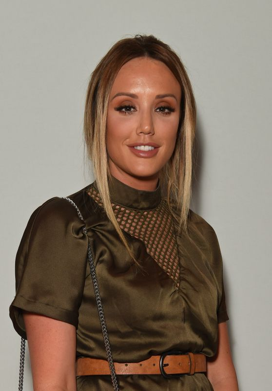 Charlotte Crosby - Rocky Star Catwalk Show S/S 2017 in London 9/16/2016
