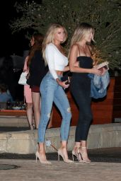 Charlotte McKinney at Nobu in Los Angeles 9/3/2016
