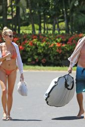 Charlotte Mckinney Hot in Bikini in Hawaii 9/7/2016