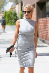 Charlotte McKinney - Leaving Xian Restaurant in Beverly Hills, 9/1/2016