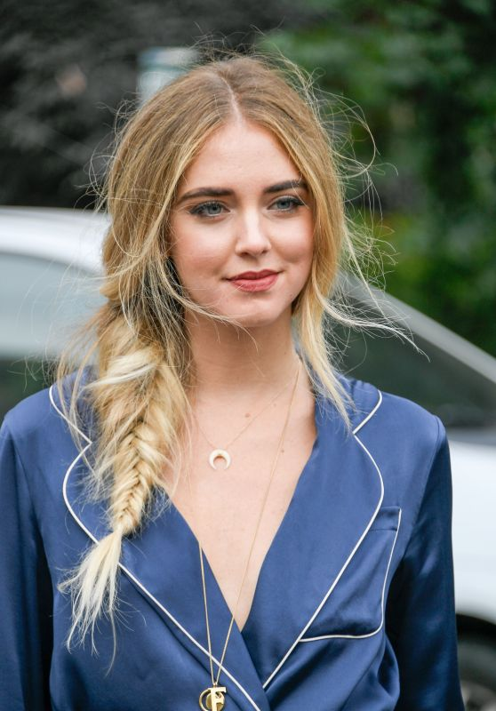 Chiara Ferragni – The Chloe Spring/Summer 2017 Show – in Paris Fashion Week 9/29/2016