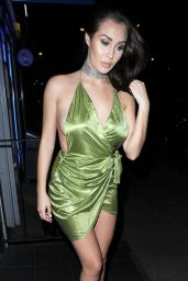 Chloe Goodman Night Time Out Style - London 9/12/2016