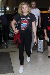 Chloe Grace Moretz at LAX Airport 8/31/2016