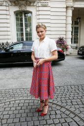 Chloe Grace Moretz at the Shangri-La Hotel in Paris 9/2/2016