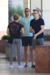 Chloe Grace Moretz in Tights - Beverley Hills - September 25, 2016