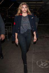 Chloe Grace Moretz - LAX Airport in Los Angeles 9/11/2016