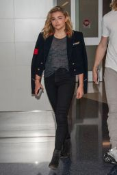 Chloe Grace Moretz - LAX Airport in Los Angeles 9/11/2016