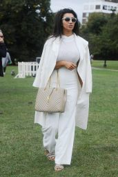 Chloe Khan - PupAid Anti-Puppy Farming Event in Primrose Hill, London 9/3/2016