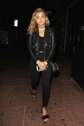 Chloe Moretz - Arriving at Jack Garratt's Concert at the Belasco Theater in Los Angeles 9/20/2016