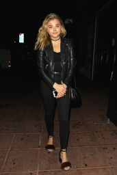 Chloe Moretz - Arriving at Jack Garratt's Concert at the Belasco Theater in Los Angeles 9/20/2016
