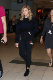 Chloe Moretz at Toronto Pearson International Airport 9/15/2016