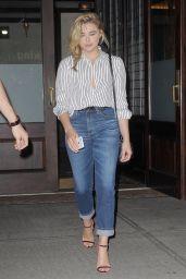Chloe Moretz -Leaving Her Hotel in Tribeca 9/7/2016